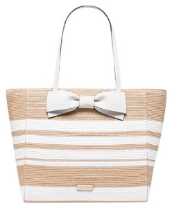 Kate Spade Tote in White and Beige