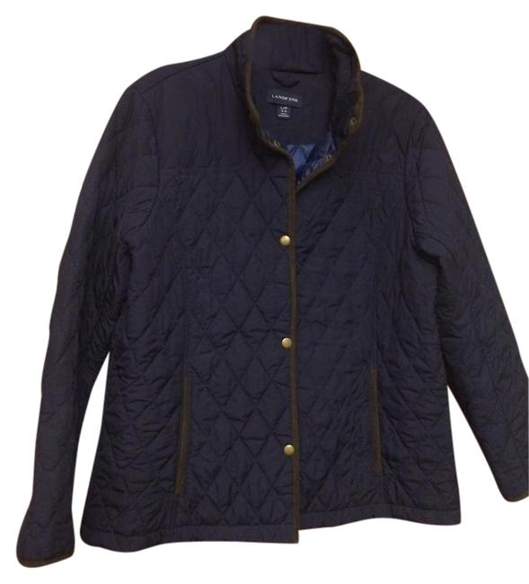 Preload https://img-static.tradesy.com/item/20512476/lands-end-navy-quilted-size-14-l-0-2-650-650.jpg