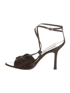 Oscar de la Renta Satin Black Formal