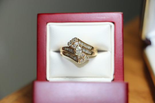 Other 14kt Diamond Ring, SIZE 6
