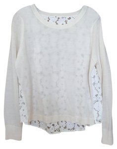 W by Worth Lace-back Color Sweater