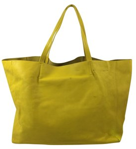 Cline Tote in Yellow