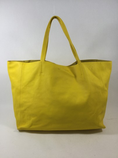 Céline Tote in Yellow