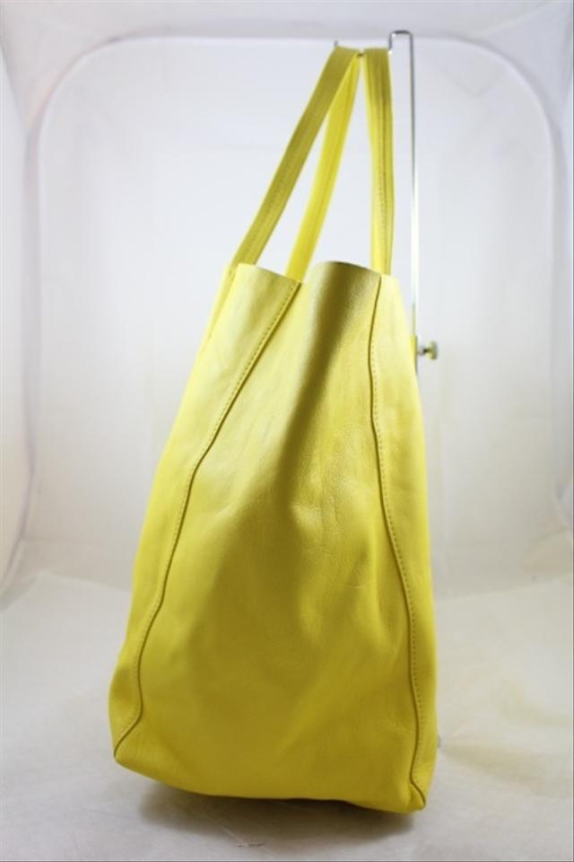 celine buy online - C��line Cabas Yellow Tote Bag | Totes on Sale at Tradesy