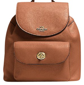 Coach F37621 Mini Billie Leather Backpack