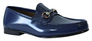 Gucci Loafers Blue Formal