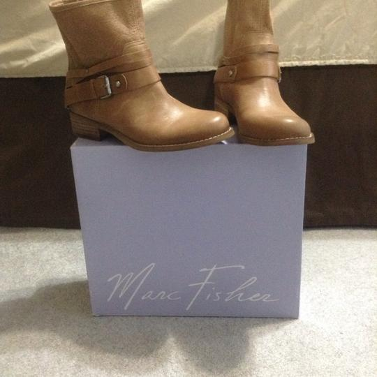 Marc Fisher Tan Boots Image 1