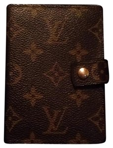 Louis Vuitton Mini Agenda Notepad Pm Wallet Palm Cover Case Pda