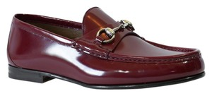 Gucci Loafers Men's Men's Loafer 387598 Red Formal