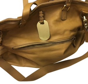 Mulberry Leather Travel tan Travel Bag
