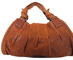 Cole Haan Phoebe Brown Satchel in Saddle