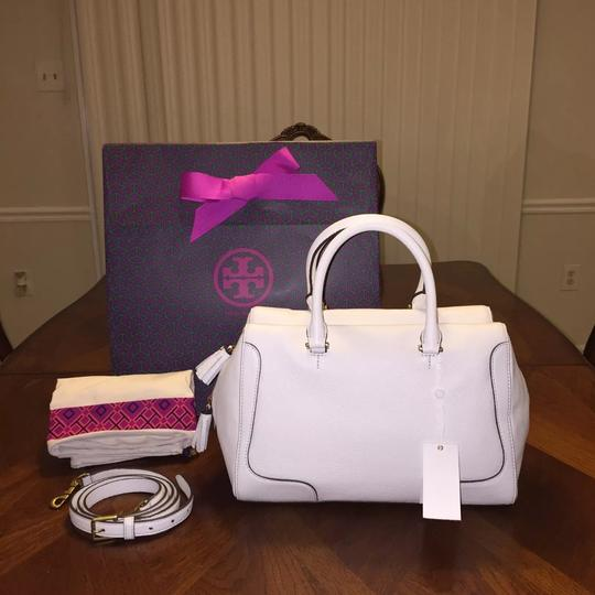 Tory Burch Satchel in New Ivory Image 1