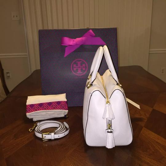 Tory Burch Satchel in New Ivory Image 2