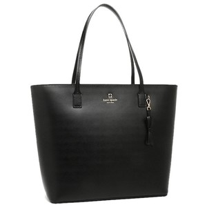 Kate Spade Large Zip Top Tote in Black