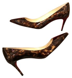 Christian Louboutin Heels Stiletto Decollete Testa Di Moro Pumps