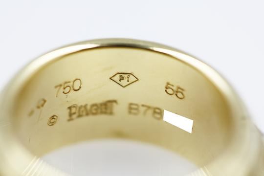Piaget 18K Yellow Gold movable Ring with 7 Diamonds Image 7