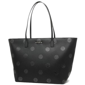 Kate Spade Oversized Large Shimmery Multifunction Glitter Tote in Black