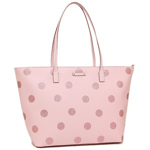 Kate Spade Oversized Large Shimmery Tote in Pink