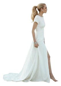 Apilat Crepe Dress Wedding Dress