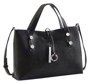 Calvin Klein Tote Reversible New Satchel in Black
