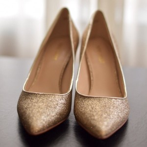 Nine West Gold Pumps Size US 5.5 Regular (M, B)