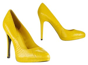 Ralph Lauren Party Snake 2017 Yellow Platforms