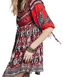 Free People short dress poppy combo on Tradesy