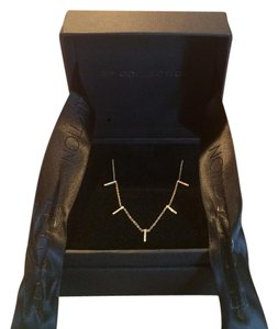EF Collection 5 bar diamond necklace