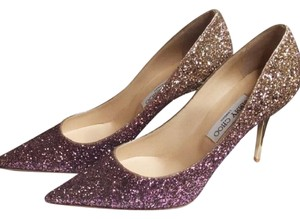 Jimmy Choo pink gold Pumps