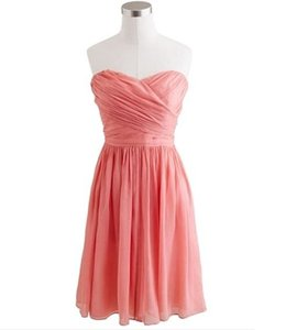 J.Crew Coral Arabelle Bridesmaid Dress Dress