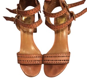 Dolce Vita Tan and gold Sandals