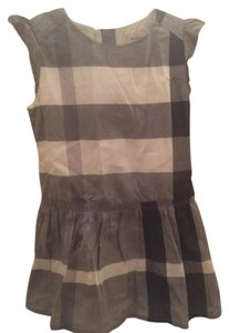 Burberry short dress Gray on Tradesy