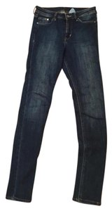 H&M Ankle Distressed Skinny Jeans