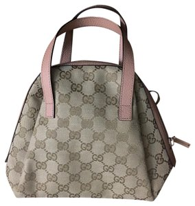 Gucci Satchel in Light brown and Pink