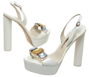Sophia Webster White Sandals