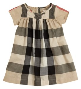 Burberry short dress Multi on Tradesy