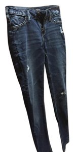 Silver Jeans Co. Jeggings-Distressed