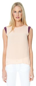 Sandra Weil Plum Pink Top Peach