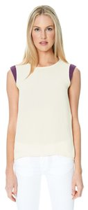 Sandra Weil Plum White Top Off White