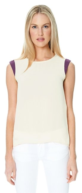 Preload https://item1.tradesy.com/images/sandra-weil-top-off-white-plum-2051430-0-0.jpg?width=400&height=650