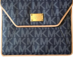 Michael Kors Blue Clutch