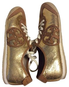 Tory Burch gold Athletic