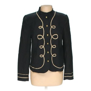 Nicole Miller Military Jacket