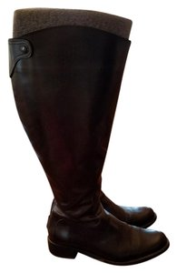 Duo (now Ted & Muffy) Wide Calf Black Boots