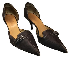 Hermès brown Pumps