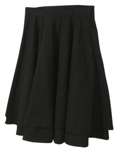 Modcloth Moon Retro Petticoat Skirt Black