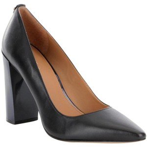 Calvin Klein Classic Leather Black, Navy Heel Pumps