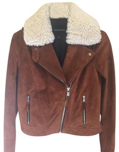 Andrew Marc cognac Leather Jacket