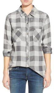 Rails Button Down Shirt gray