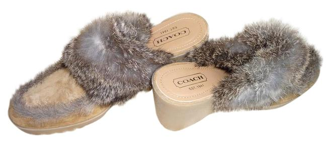 Item - Camel and Brown A0018 Kaela Made In Italy Mules/Slides Size US 9 Regular (M, B)
